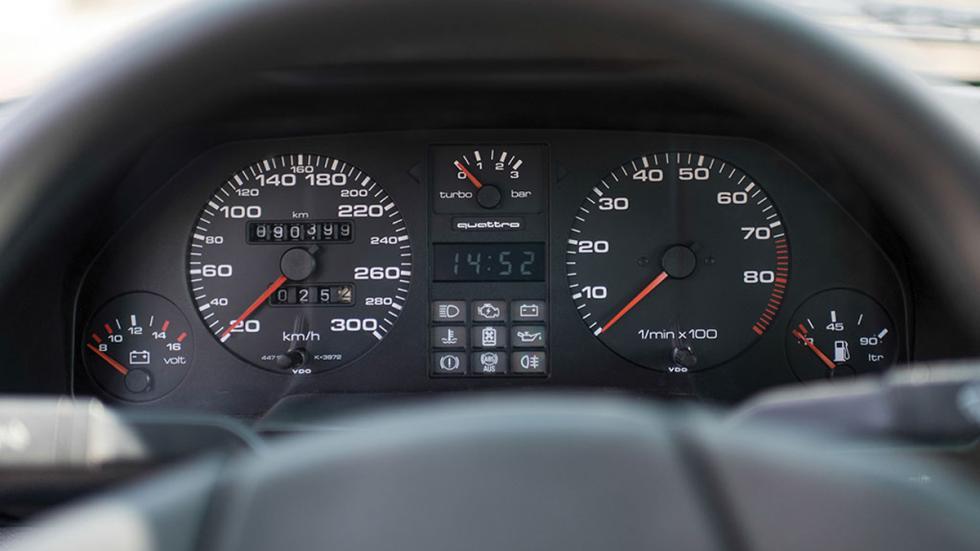 Audi Sport quattro 1985 cuadro mando