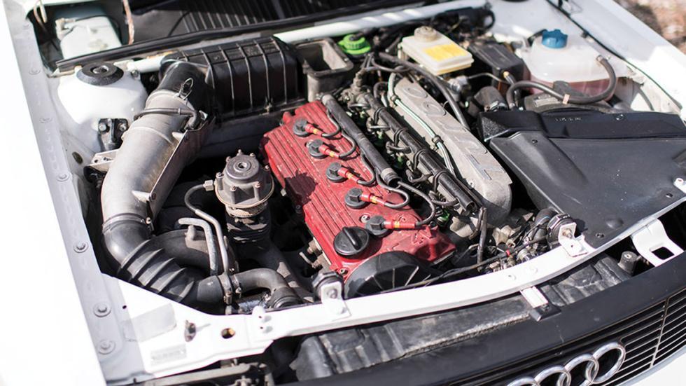 Audi Sport quattro 1985 motor