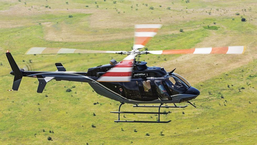 Los mejores artefactos para no sufrir los atascos de Semana Santa - Bell 407GXP