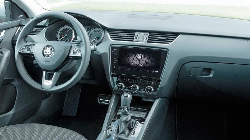 Rivales Subaru Outback: Skoda Octavia Scout