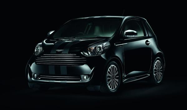 Aston Martin Cygnet Black frontal