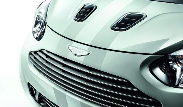 Aston Martin Cygnet parrilla