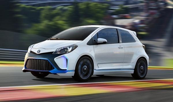 Toyota Yaris Hybrid-R Concept delantera