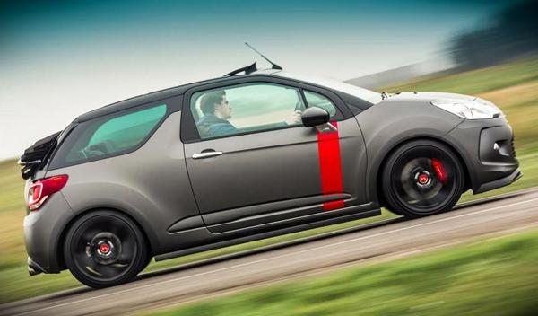 Citroën DS3 Cabrio Racing lateral