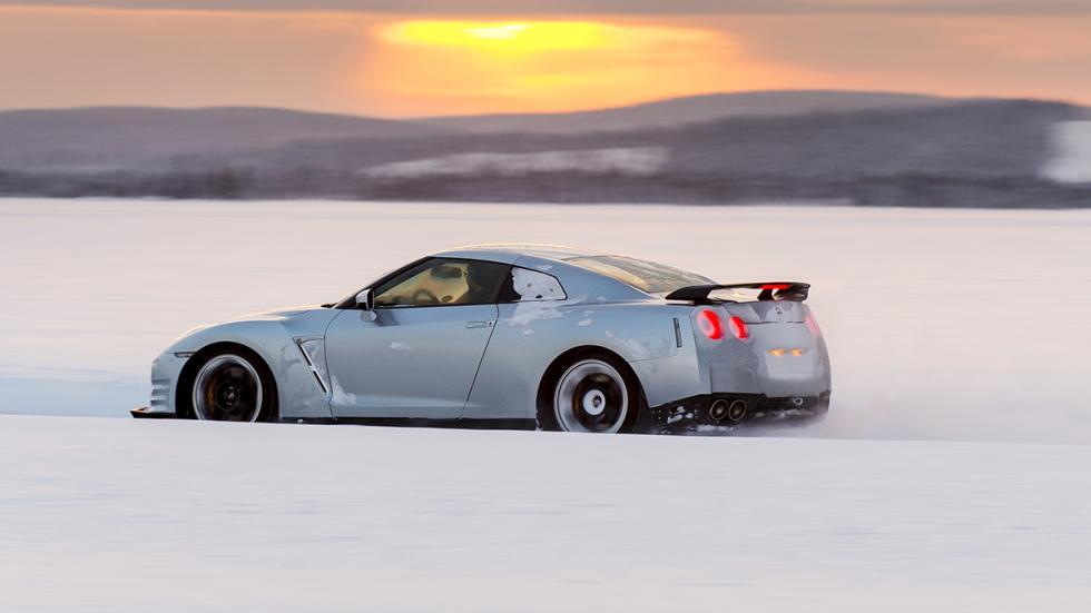 Nissan GTR Hielo barrido