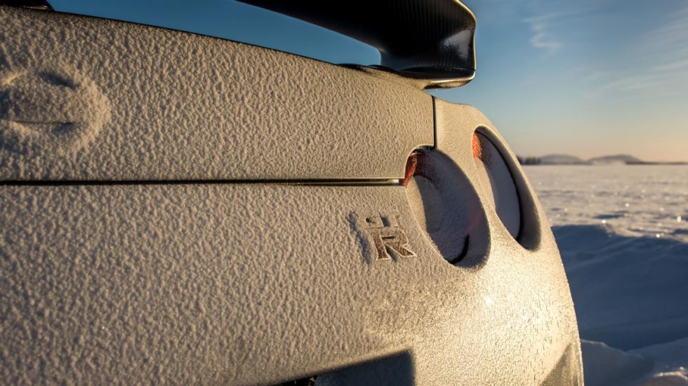 Nissan GTR Hielo logo