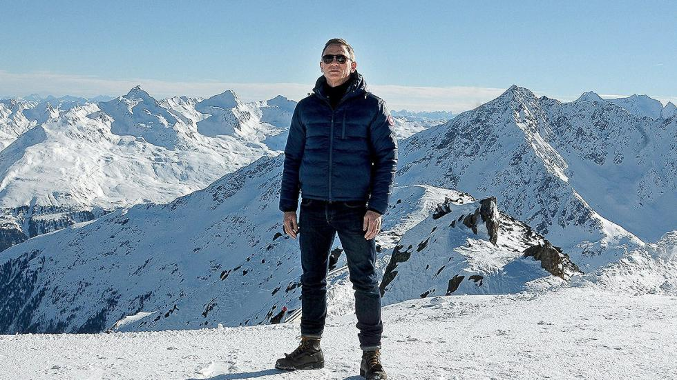 Daniel Craig tendrá muchas escenas de frío.