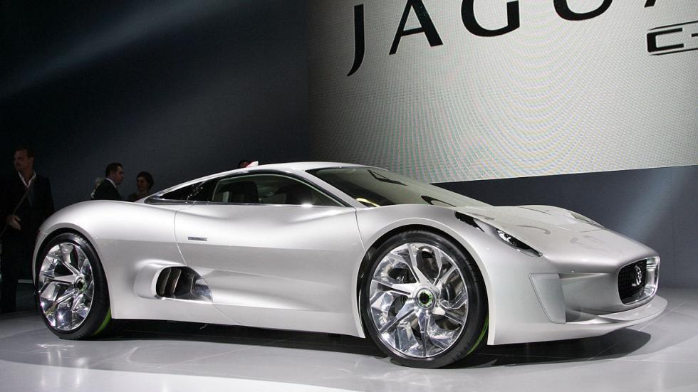 El Jaguar CX-75 será el bólido del malvado de 'Spectre' interpretado por Cristop