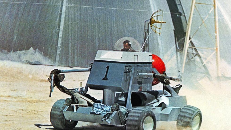 Incluso condujo un vehículo lunar en 'Diamantes para la eternidad'