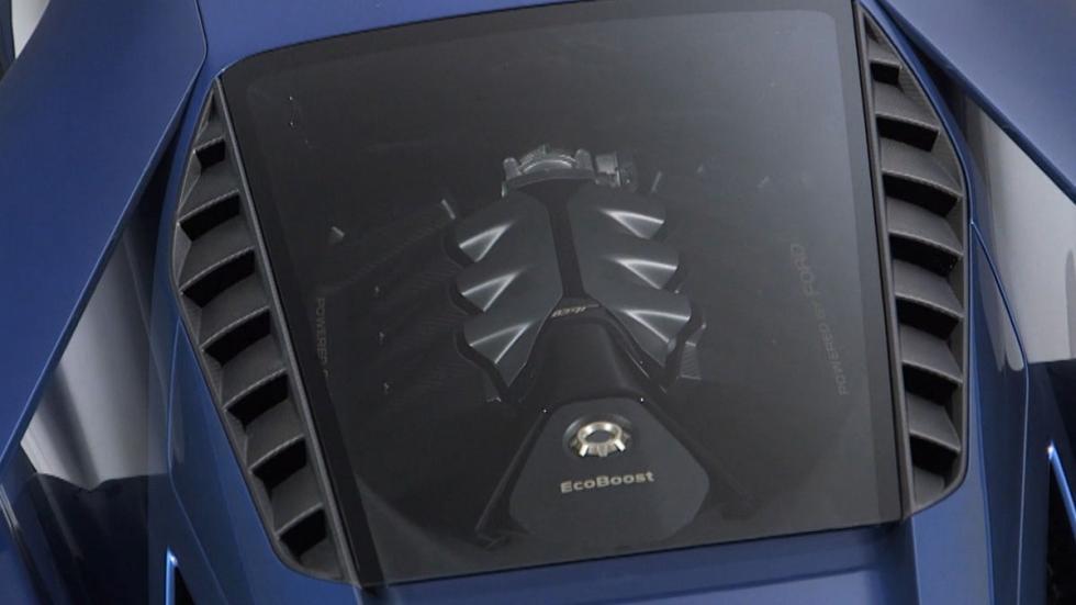 El Ford GT motor