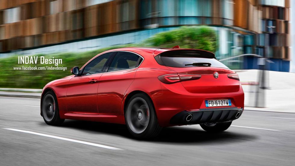 Alfa Romeo Giulietta 2017 Indav Design
