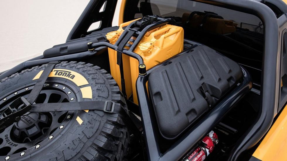 Toyota Hilux Tonka Concept detalla caja