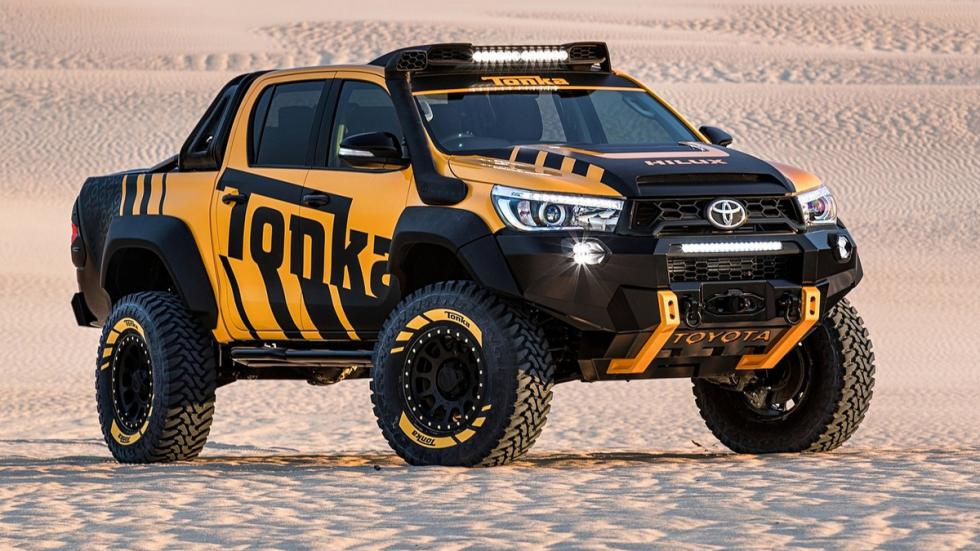 Toyota Hilux Tonka Concept frontal