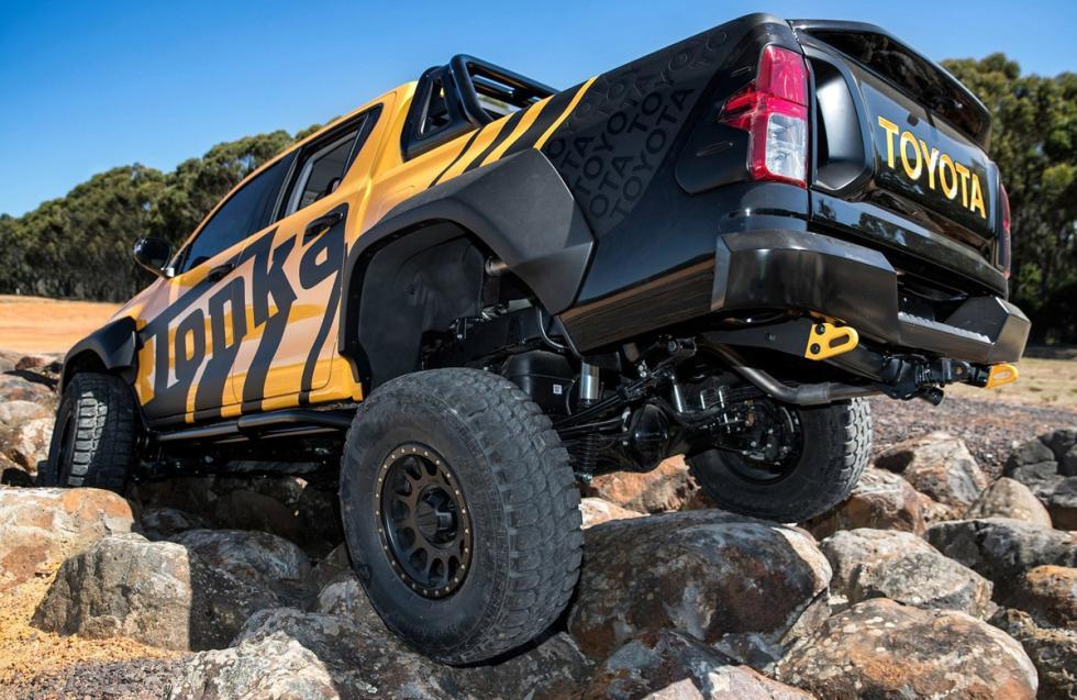 Toyota Hilux Tonka Concept zaga trialera