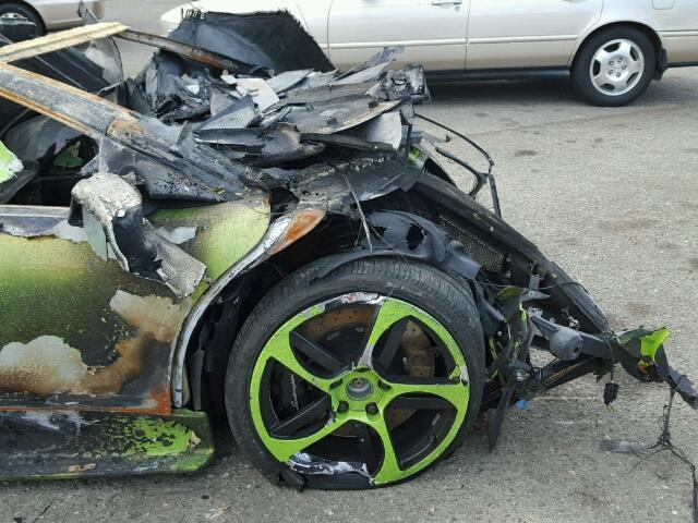 Lamborghini destrozado