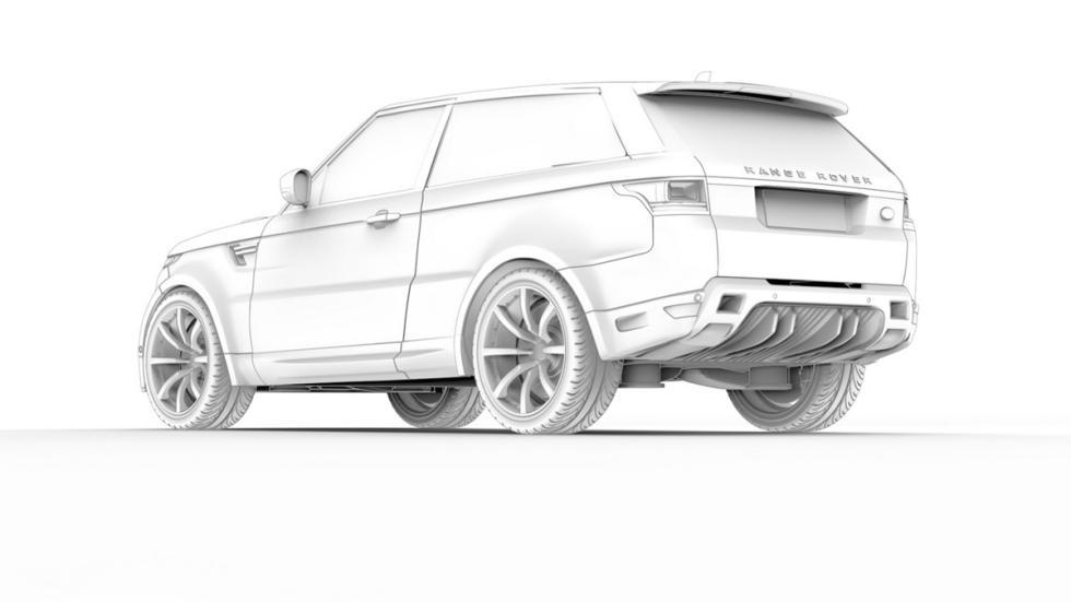 Range Rover Sport Coupé zaga