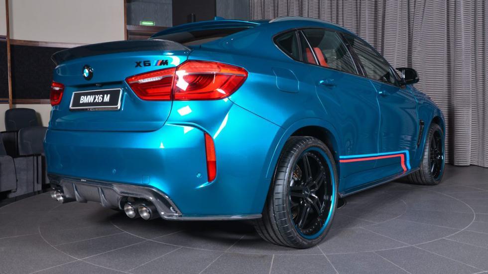 BMW X6 M personalizado zaga