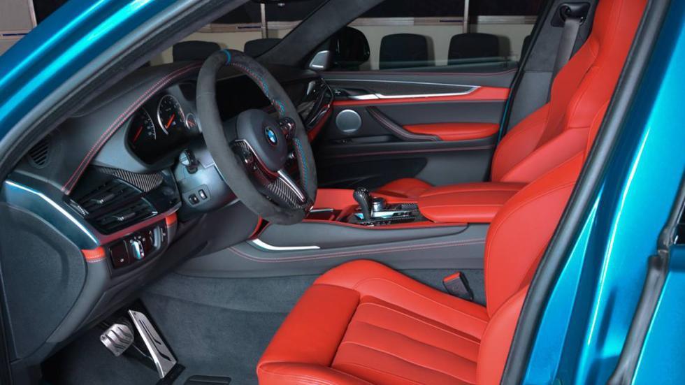 BMW X6 M personalizado interior