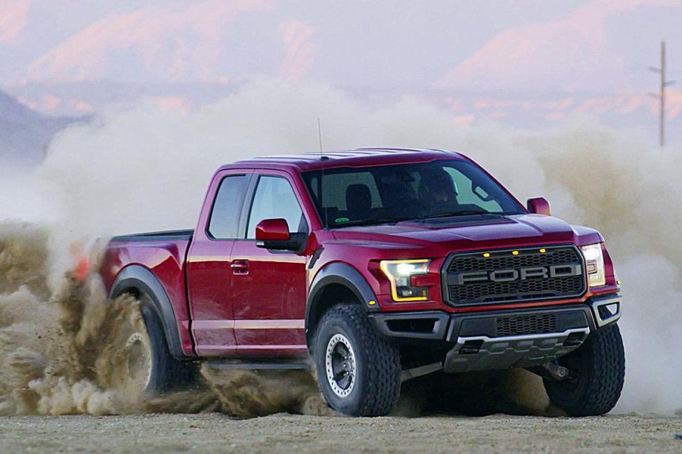 Y aquí, el coche más vendido de Estados Unidos cada año: Ford F-150