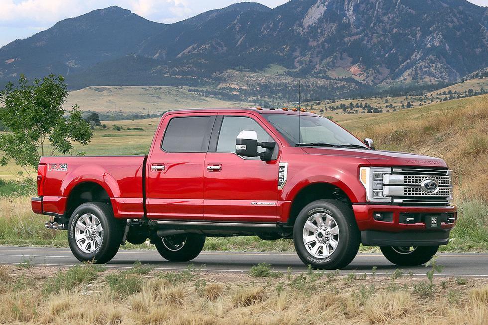 O el Super Duty. Su motor es un V8 de 6,7 litros y más de 1.000 Nm de par.