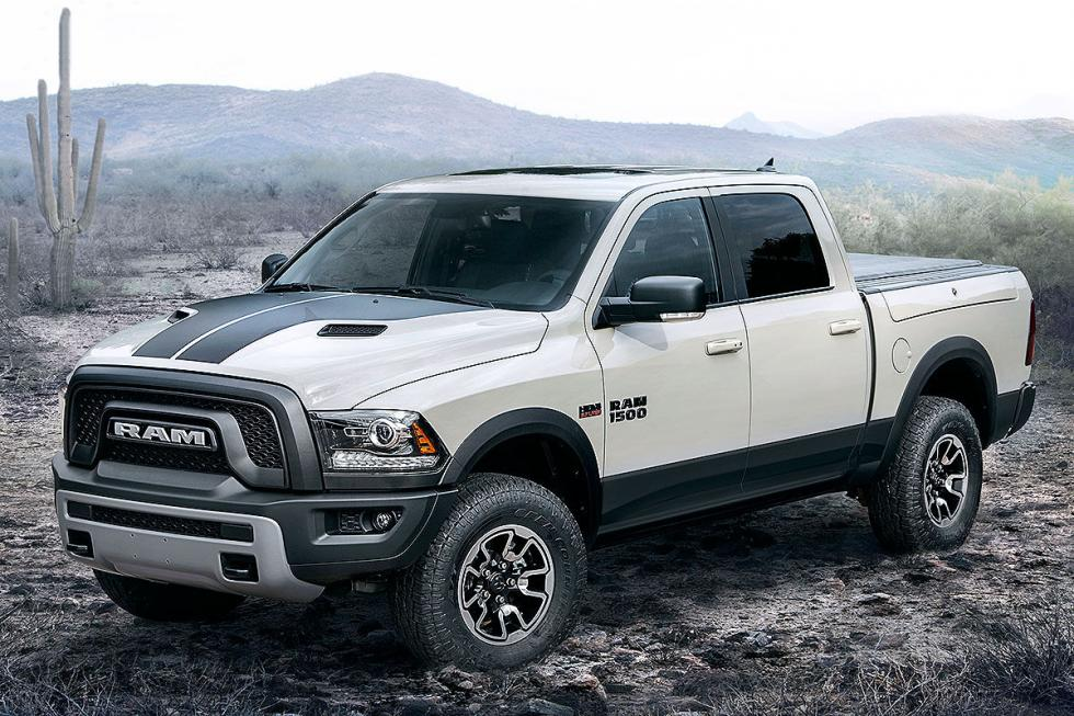 El Ram 1500 Rebel tiene un Hemi-V8 de 400 CV y suspensión neumática.
