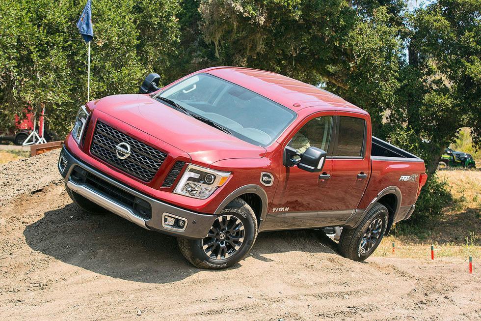 Japón también tiene sus modelos para el mercado americano. Como este Nissan Tita