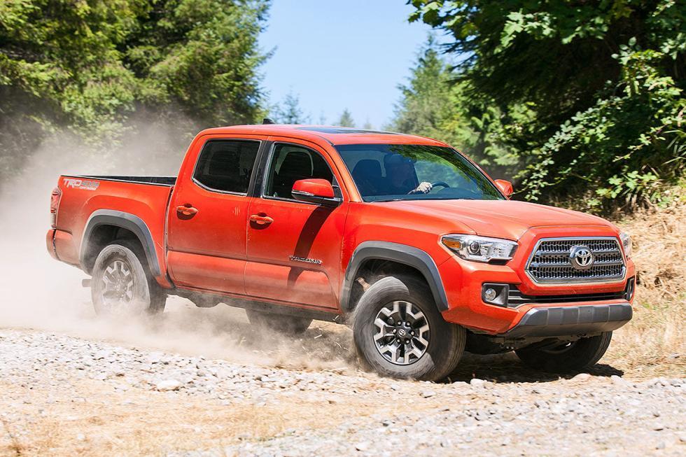 Toyota, por su parte, tiene para ese mercado el Tacoma y el Tundra.