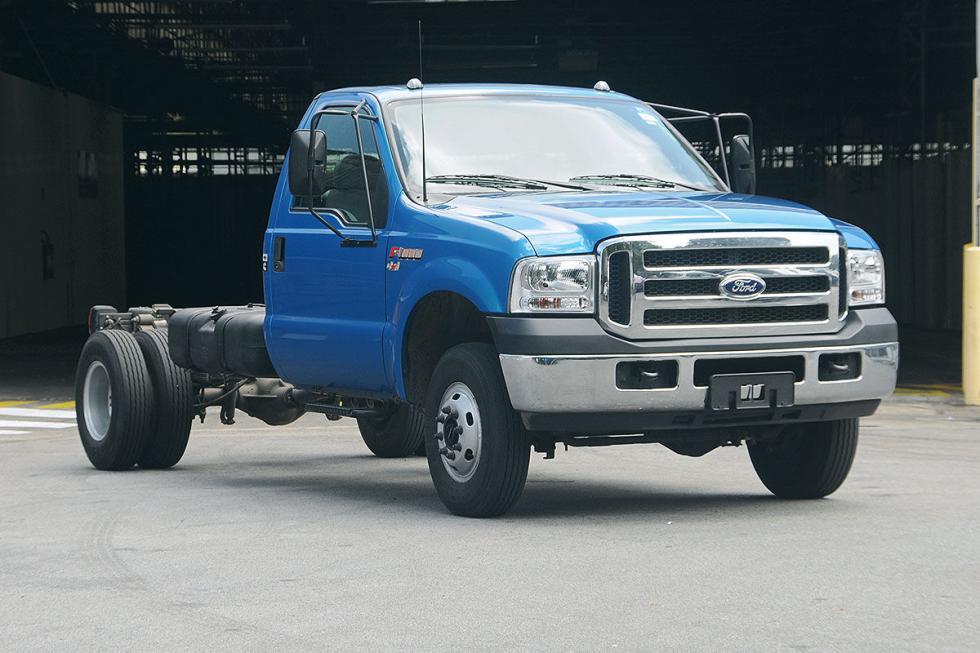 Ford tiene modelos específicos para Brasil: como este F-350 con 2,8 litros que r