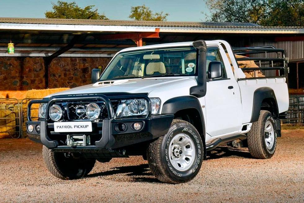 Nissan tiene modelos para Sudáfrica, entre otros, este Patrol Pick-Up.