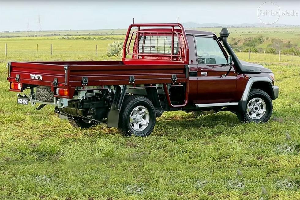 También Toyota: este es un pick-up para Sudáfrica basado en el Land Cruiser de a