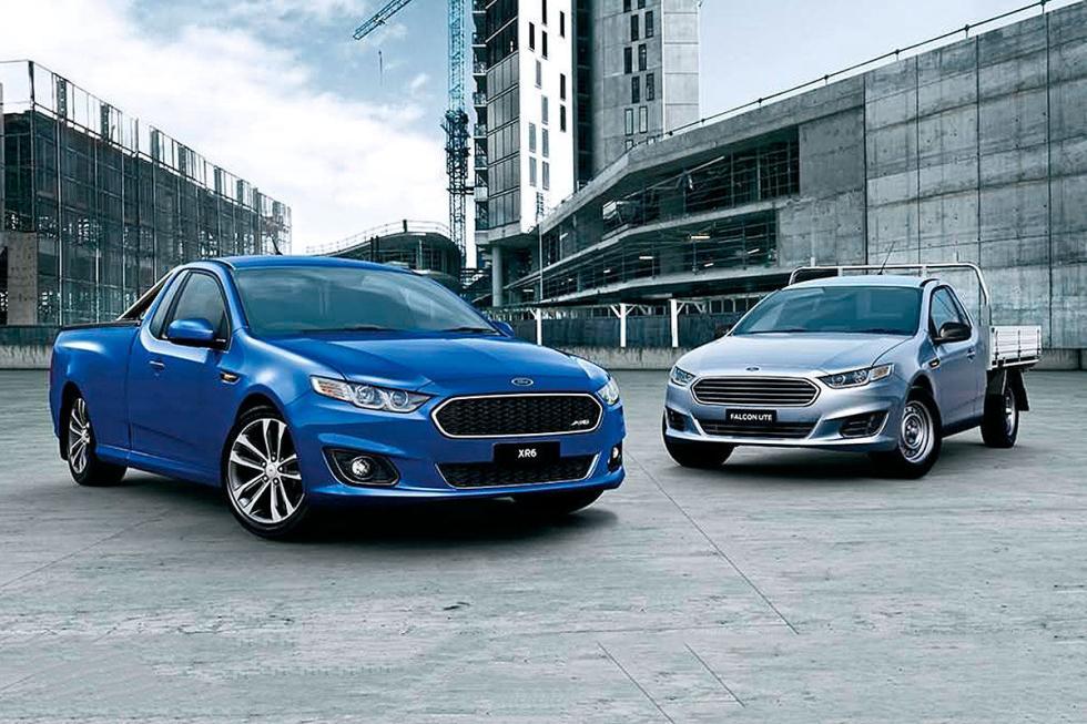 En Australia, triunfan los pick-ups basados en turismos que ofrece Ford.