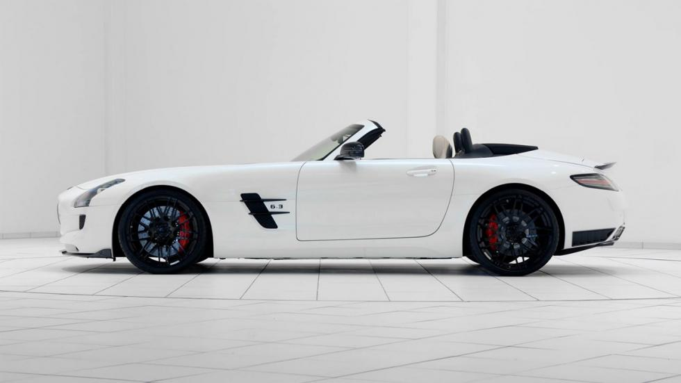venta Mercedes SLS AMG Roadster Brabus lateral