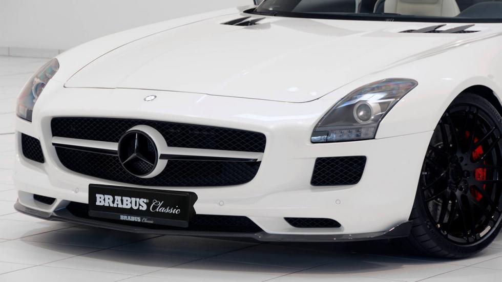 venta Mercedes SLS AMG Roadster Brabus frontal detalle