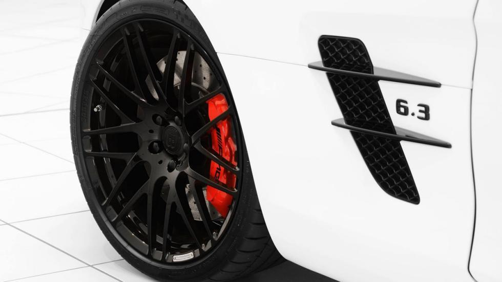 venta Mercedes SLS AMG Roadster Brabus llanta detalle