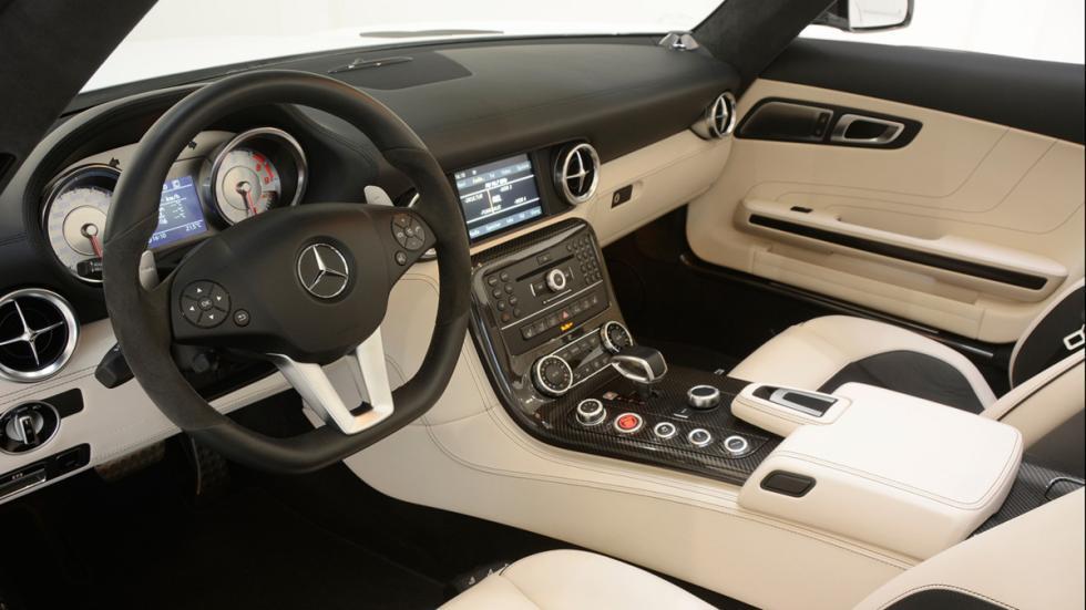venta Mercedes SLS AMG Roadster Brabus habitáculo