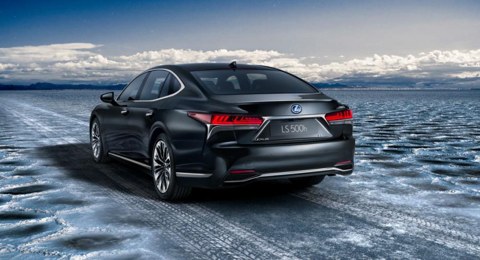 Lexus LS 500h 2017 7
