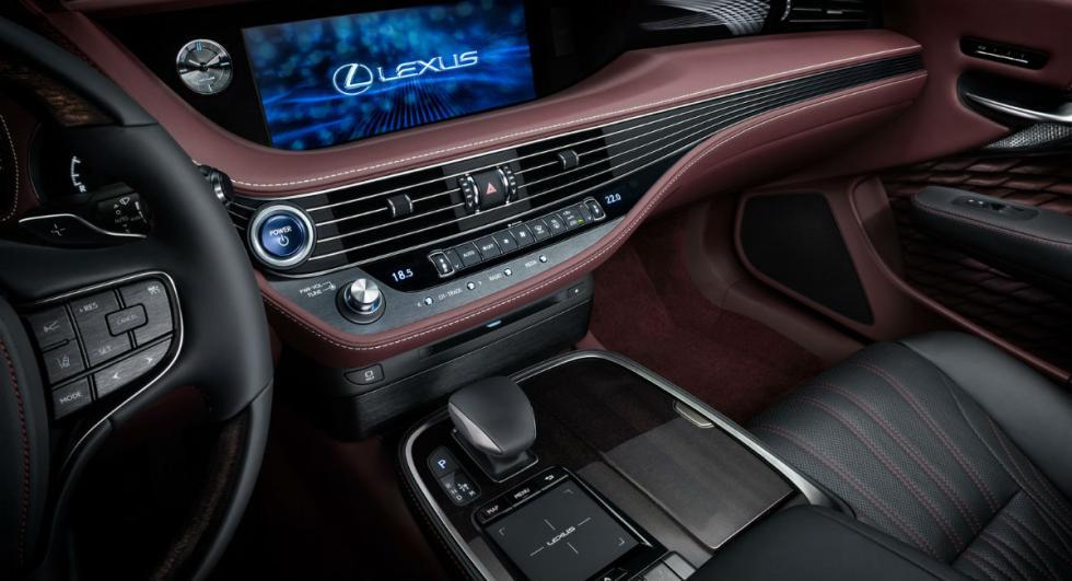 Lexus LS 500h 2017 14