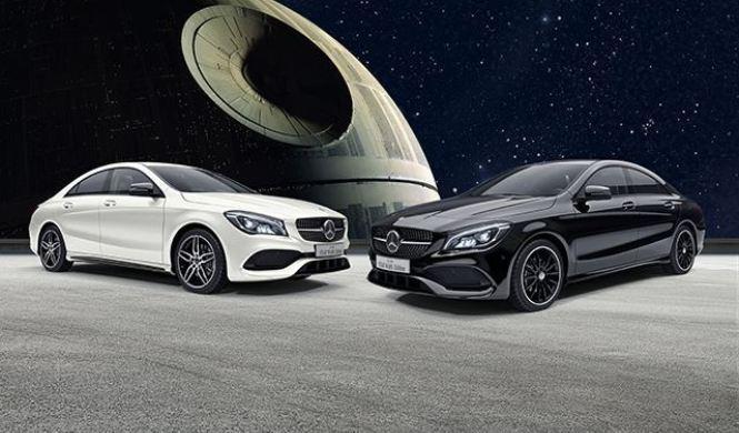 Mercedes CLA Star Wars Edition
