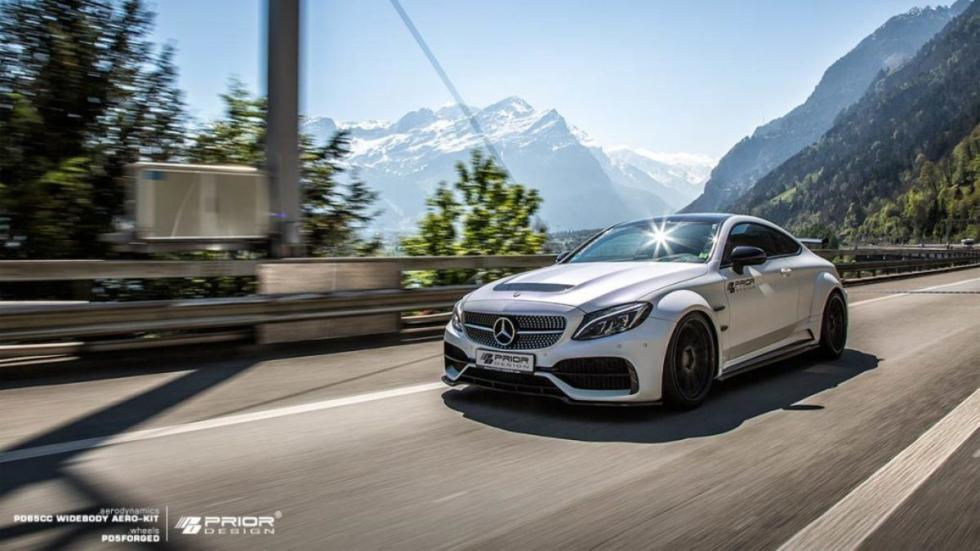 Mercedes-AMG C63 Coupé by Prior Design