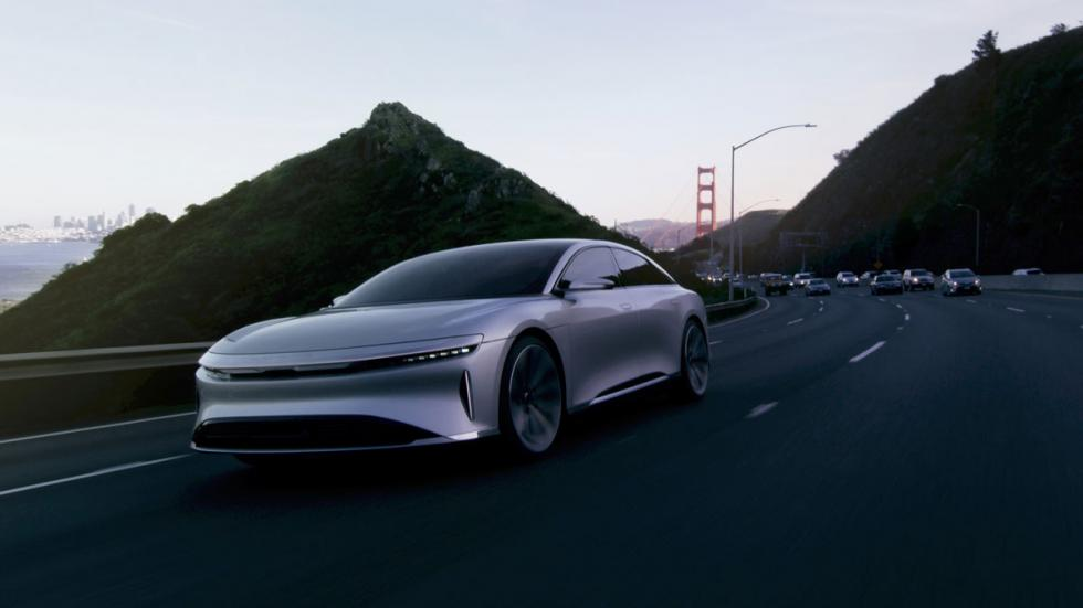 Lucid Air (interior)