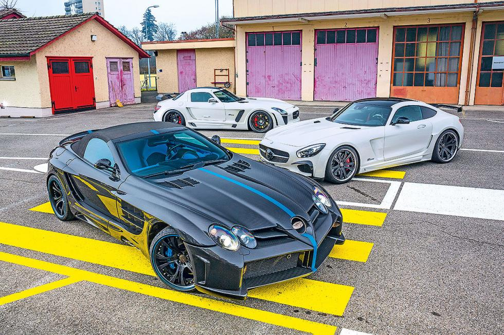Mercedes SLR, SLS und GT S de FAB Design