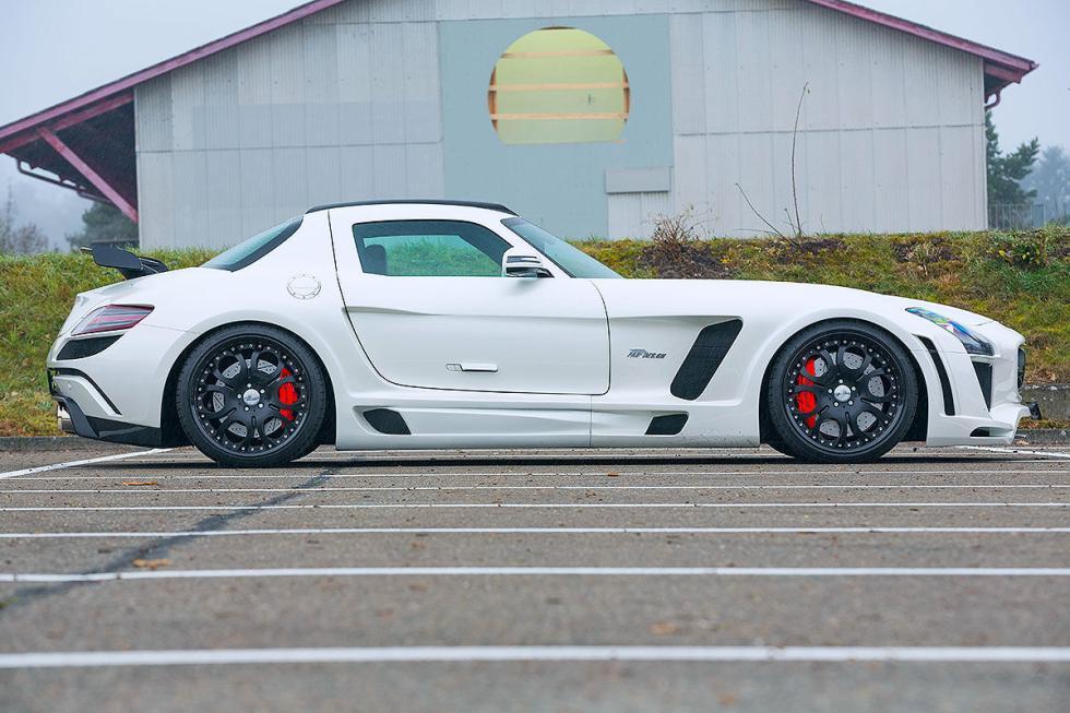 Mercedes SLR, SLS y GT R de FAB Design