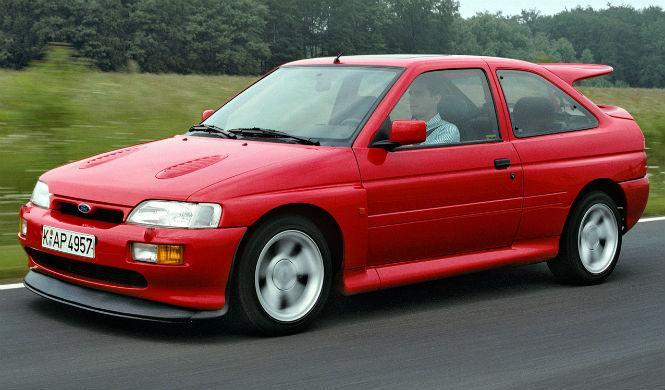 Leyendas sobre ruedas: así era el Ford Escort RS Cosworth