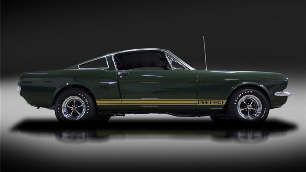 Shelby Mustang GT350-H de 1966 lateral