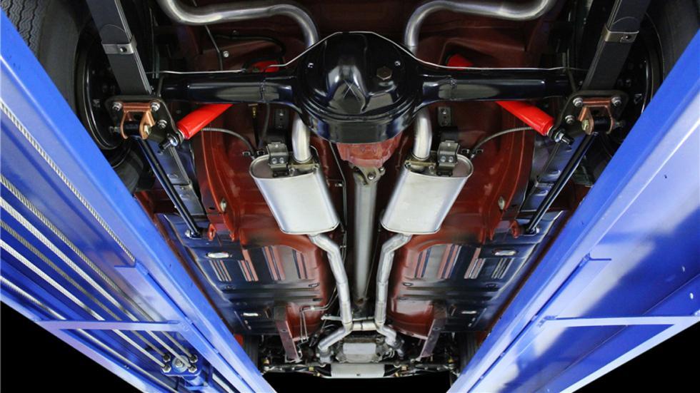 Shelby Mustang GT350-H de 1966 bajos