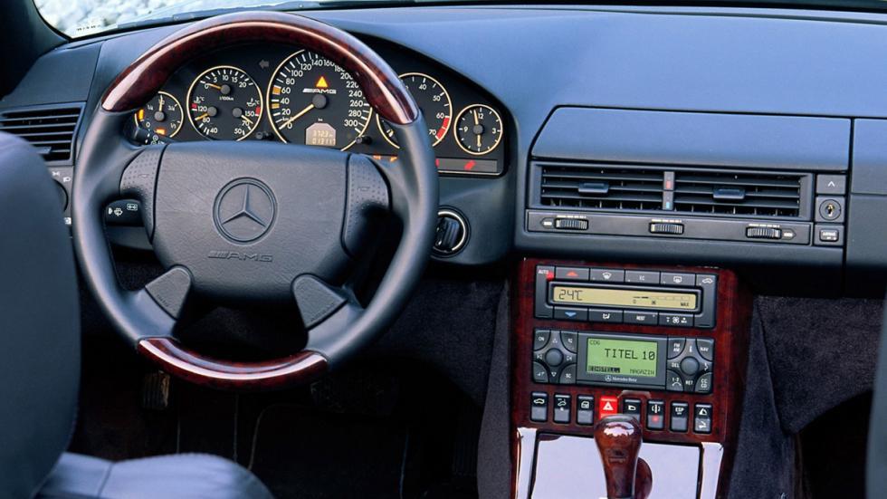 Mercedes SL 73 AMG habitáculo