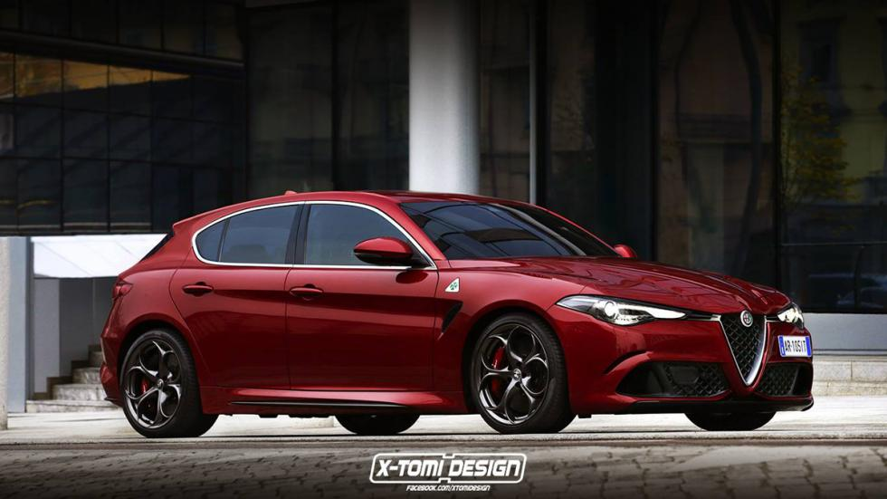 Alfa Romeo Giulietta 2017 X-Tomi Design