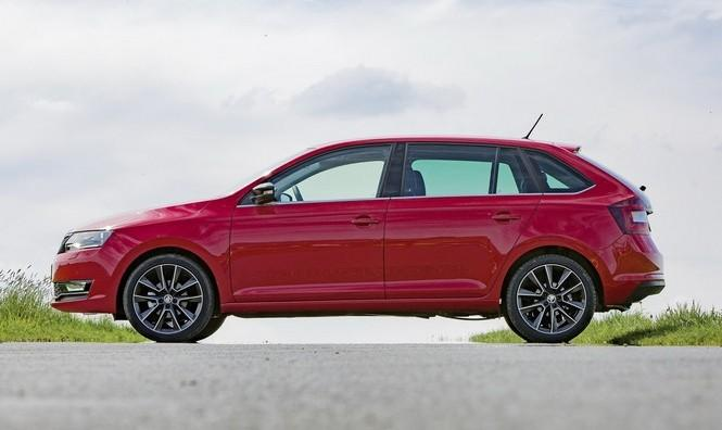 Skoda Rapid y Skoda Spaceback 2017