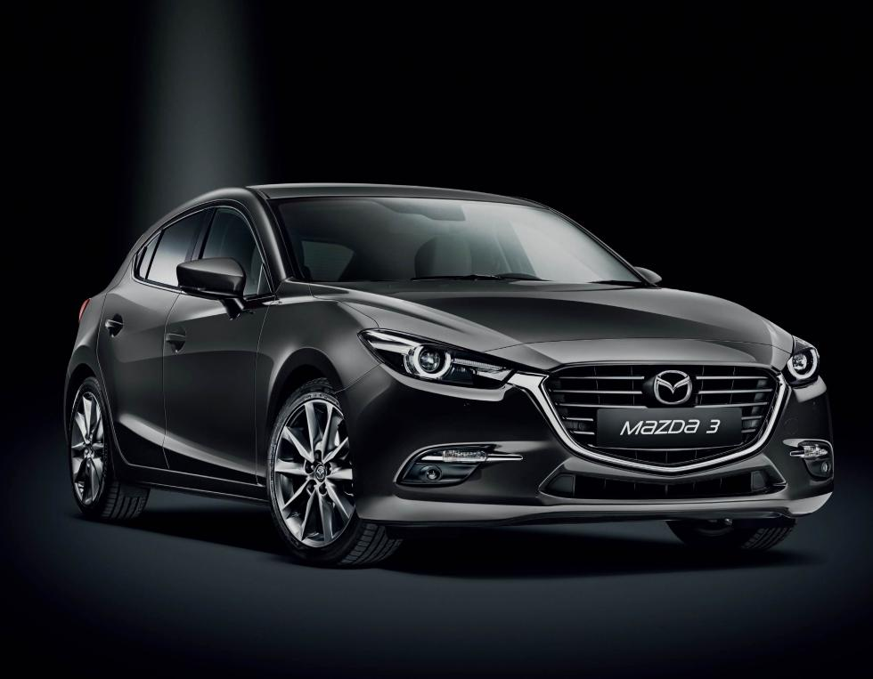 Mazda3 2017 Black Tech Edition
