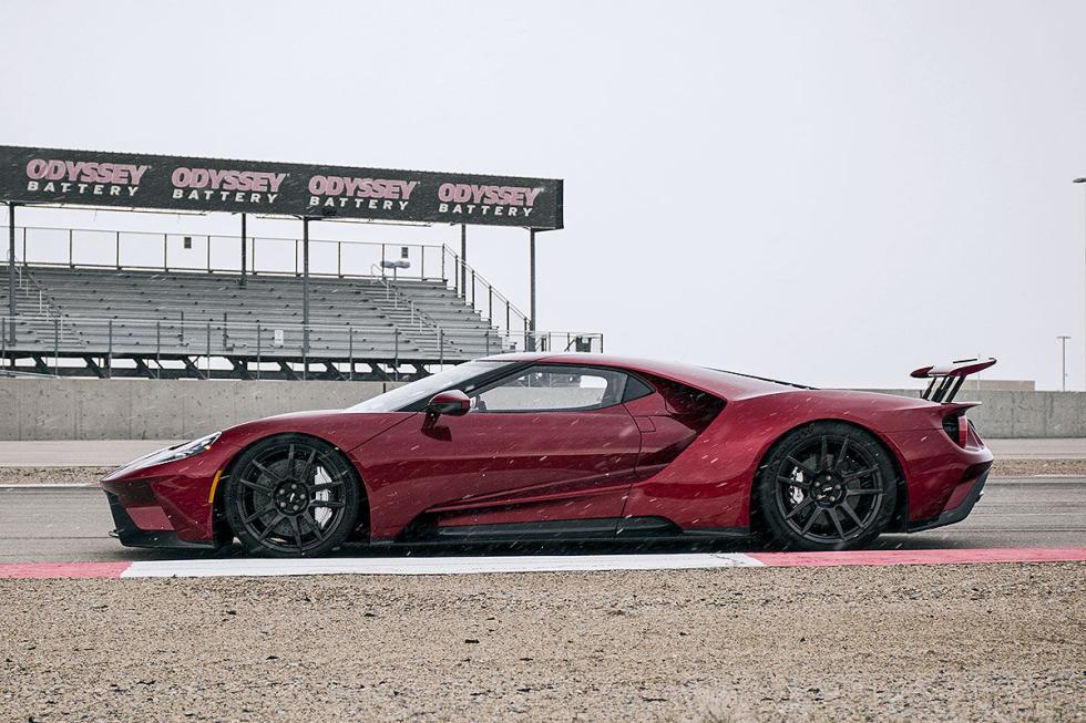 Probamos el nuevo Ford GT en un circuito
